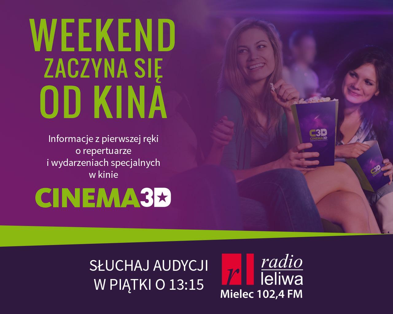 """Audycja """"Weekend zaczyna się od kina"""""""