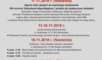 Sandomierz: II Światowy Dzień Ubogich.