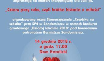 """Sandomierz: """"Cztery pory roku czyli krótka historia o miłości""""."""