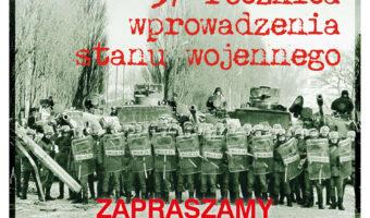 Sandomierz: Rocznicowe obchody wprowadzenia stanu wojennego.