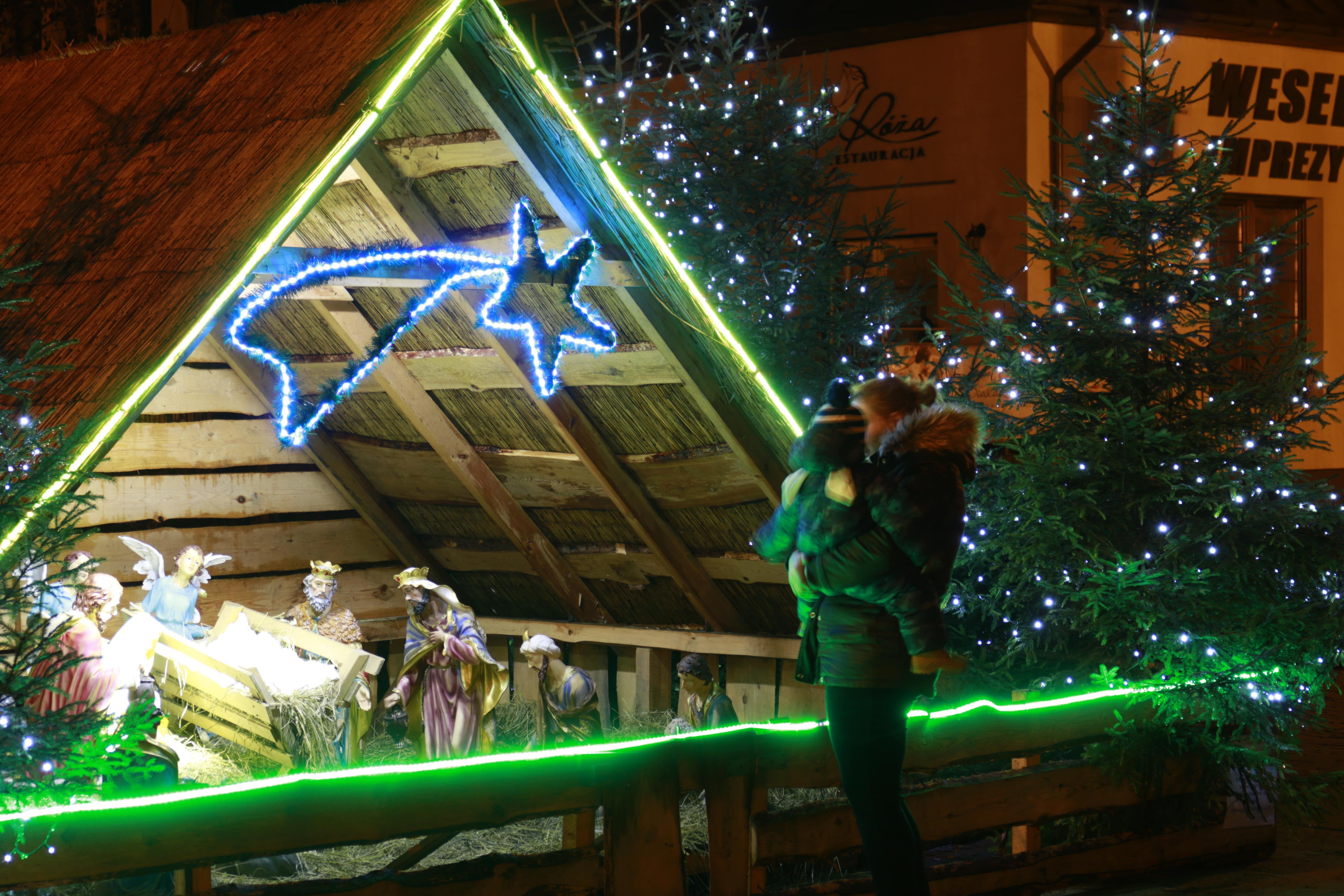 Modliborzyce: Interaktywna szopka bożonarodzeniowa