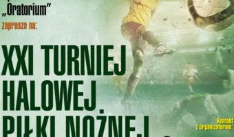 Stalowa Wola: W niedzielę start turnieju Halowej Piłki Nożnej ks. Markiewicza