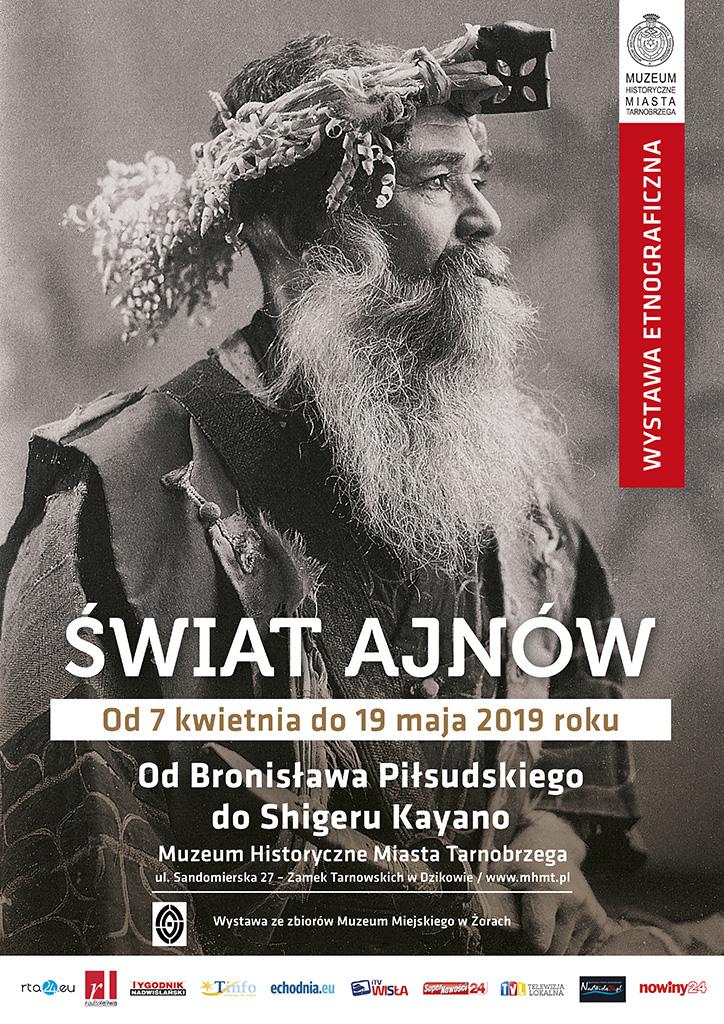 Tarnobrzeg. Świat Ajnów  w Zamku Tarnowskich w Dzikowie.