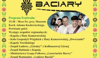 Huta Komorowska: 28 lipca Festiwal Muzyki Ludowej i Folkowej.