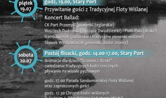 """Sandomierz: Parada łodzi, koncerty i wodniackie atrakcje czyli """"Dookoła Wody Festival""""."""
