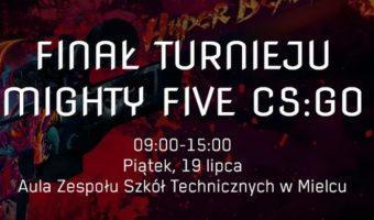 Mielec: Finały drugiej edycji turnieju Mighty Five CS:GO.