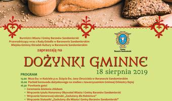 Baranów Sandomierski: Zaproszenie na dożynki