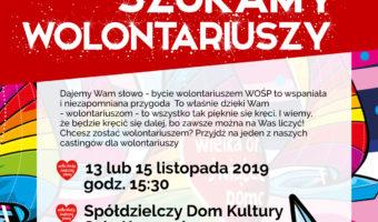 Stalowa Wola: W środę pierwszy casting na wolontariuszy WOŚP.