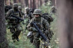 22.10.2020 Nowa DębaPętla taktyczna żołnierzy 10 ŚBOTFot.  DWOT