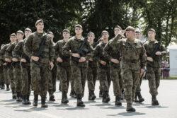 18.07.2021 - Sandomierz. TSW  10ŚBOT. Przysiega zolnierzy ze 101 BLP. Fot. DWOT