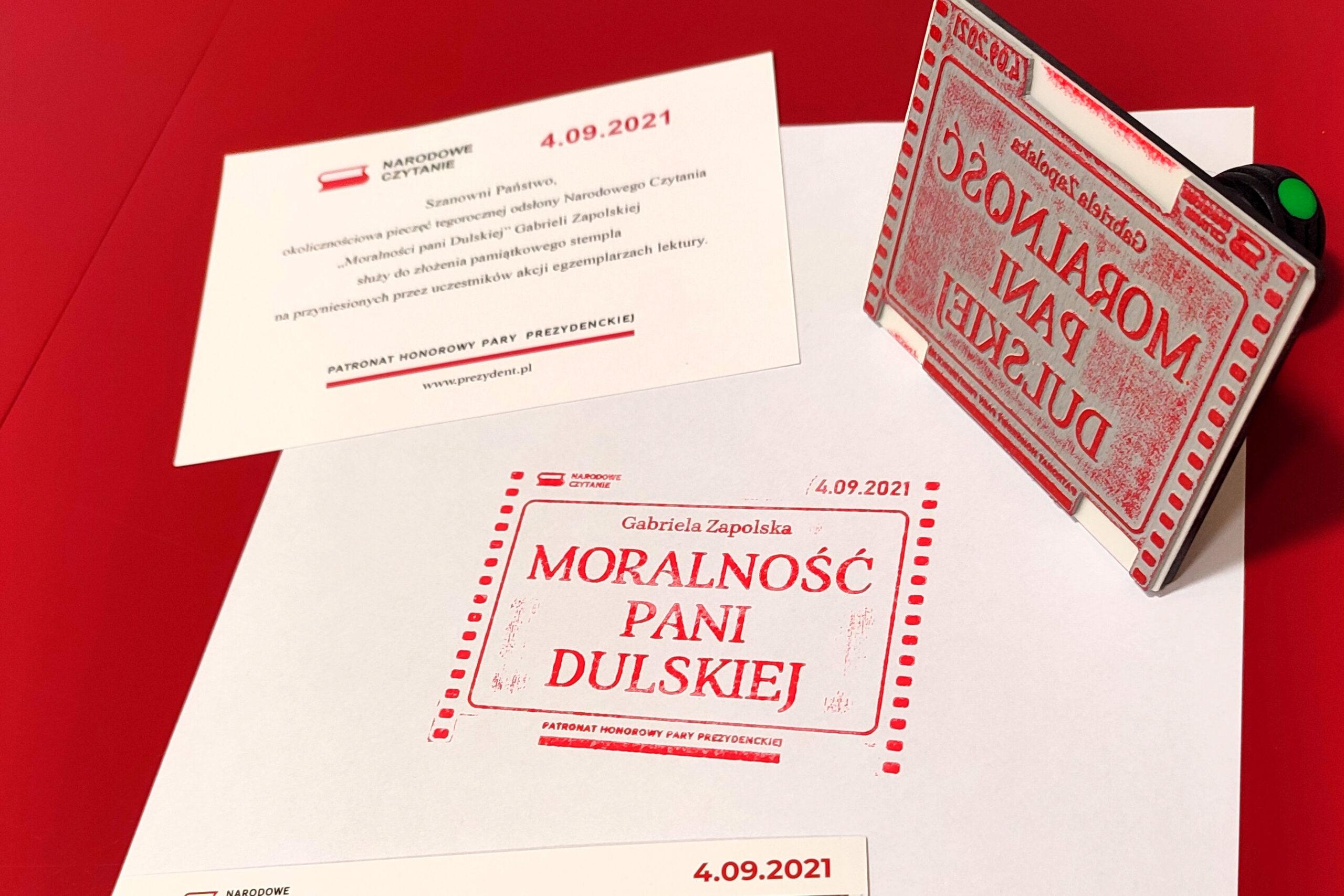 Stalowa Wola: Przygotowania do Narodowego Czytania i pieczęć : Radio Leliwa