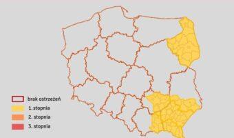 Region: Interwencje strażaków po intensywnych opadach