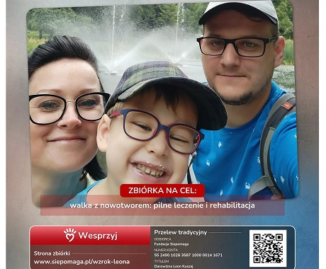 Tarnobrzeg. Żeby widzieć i żyć trzyletni Leoś Kuszaj potrzebuje kosztownej terapii.