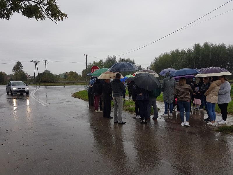 Na skrzyżowaniu w Suchorzowie giną ludzie. Mieszkańcy chcą, żeby to się skończyło.